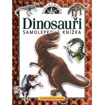 Výtvarné a kreativní hračky - Samolepková knížka - Dinosauři