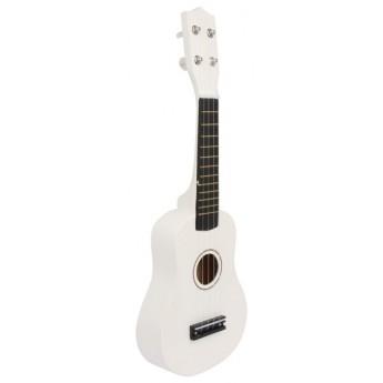 Dětské hudební nástroje - Dětská kytara bílá
