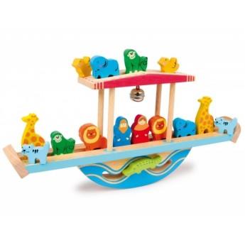 Motorické a didaktické hračky - Balanční archa Noah