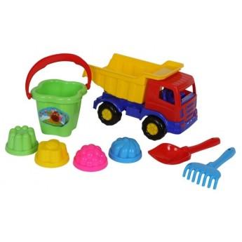 Hračky na ven - Hračky na písek - sada nákladní auto