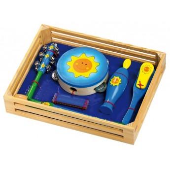 Dětské hudební nástroje - Hudební sada Sluníčko