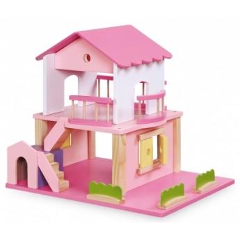 Pro holky - Domeček pro panenky růžový