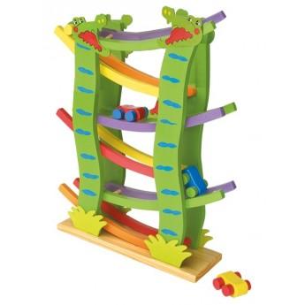 Motorické a didaktické hračky - Krokodýlí dráha