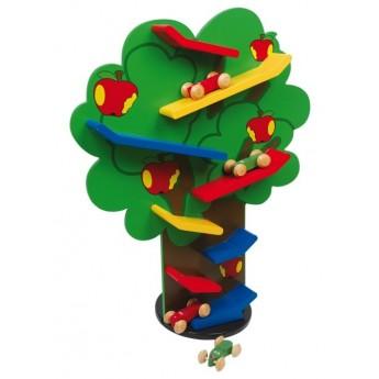 Motorické a didaktické hračky - Kuličková dráha strom