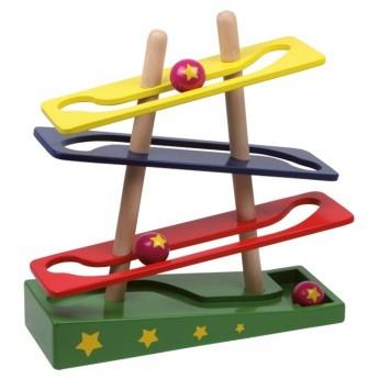 Motorické a didaktické hračky - Kuličková dráha hvězda