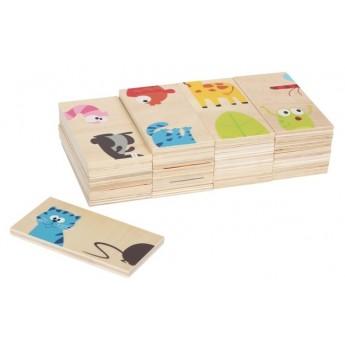 Hry a hlavolamy - Domino Oblíbená zvířata