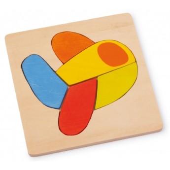 Puzzle - Vkládací puzzle - Letadlo