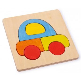 Puzzle - Vkládací puzzle - Auto