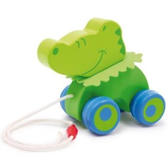 Pro nejmenší - Tahací krokodýl Stefan