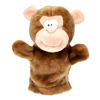 Divadla, loutky, maňásci - Maňásek plyšový Opice