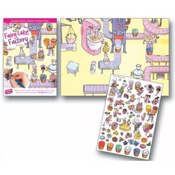 Výtvarné a kreativní hračky - Pracovní sešit SCRIBBLE DOWN, Magická cukrárna