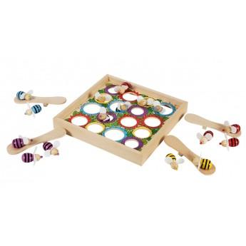 Hry a hlavolamy - Společenská hra – Kloboučku hop včelky