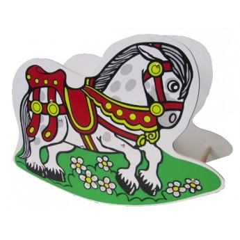 Pro nejmenší - Dřevěné houpadlo Kůň
