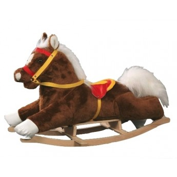Pro nejmenší - Houpací kůň hnědý