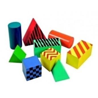 Kostky a stavebnice - Rainbow Chrastící kostky 9 dílů