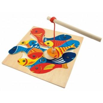 Motorické a didaktické hračky - Rybičky s udičkou