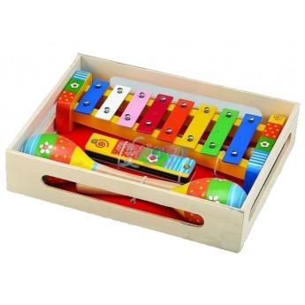 Dětské hudební nástroje - Sada hudebních nástrojů