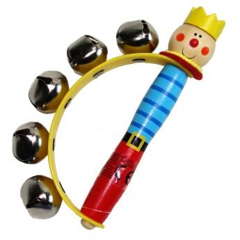 Dětské hudební nástroje - Rolničky do ruky - Princ
