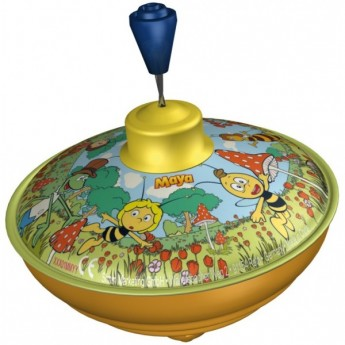 Plechové hračky - Plechová káča Včelka Mája