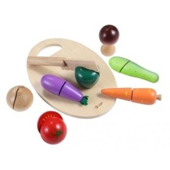 Pro holky - Krájecí zelenina na prkýnku