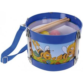 Dětské hudební nástroje - Plechový bubínek Včelka Mája