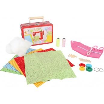 Výtvarné a kreativní hračky - Dětský kufr Šicí sada
