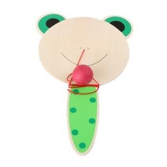 Hračky na ven - Pálka s míčkem - Žabička