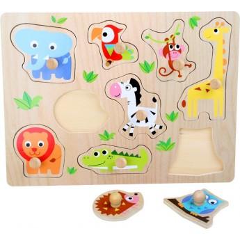 Puzzle - Puzzle Zoologická zvířata