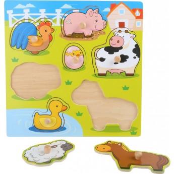 Puzzle - Puzzle Roztomilá zvířátka