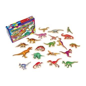 Školní potřeby - Magnety Dinosauři 20 ks