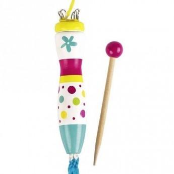Výtvarné a kreativní hračky - Pletací houba Susibelle