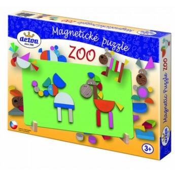 Puzzle - Magnetické puzzle ZOO
