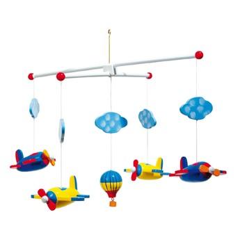 Dětský pokojíček - Závěsný kolotoč Letadla