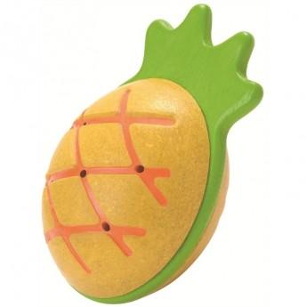 Pro nejmenší - Dřevěné chrastítko Ananas