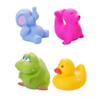 Hračky do vody - Sada zvířátek do vody, 4 ks