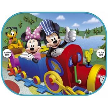 Doplňky do auta - Sluneční clona do auta Mickeyho klubík