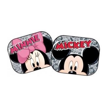 Doplňky do auta - Sluneční clona do auta Mickey a Minnie