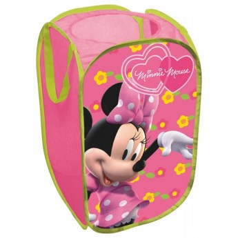 Dětský pokojíček - Koš na hračky Minnie