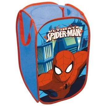 Dětský pokojíček - Koš na hračky Spiderman