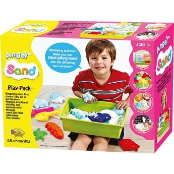 Výtvarné a kreativní hračky - Magický písek velká sada