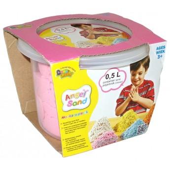 Výtvarné a kreativní hračky - Magický písek 0,5 l růžový