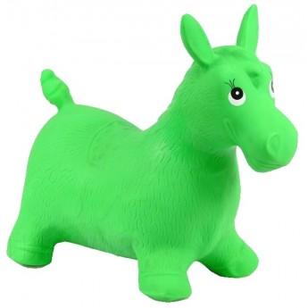 Pro holky - Skákací oslík, zelený