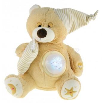 Pro nejmenší - Medvídek s projekcí, béžový