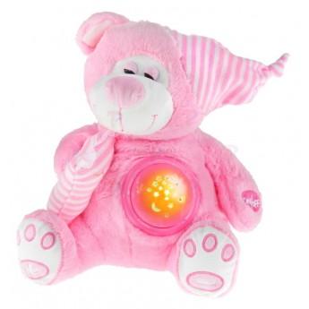 Medvídek s projekcí, růžový
