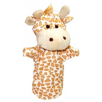 Divadla, loutky, maňásci - Maňásek na ruku Žirafa II