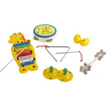 Dětské hudební nástroje - Hudební set Žirafa