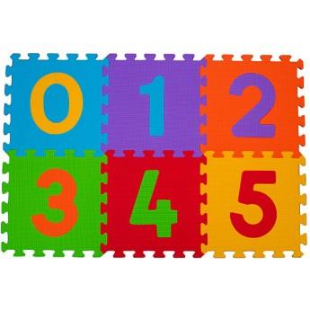 Pěnové puzzle 6 ks 30 x 30 cm Čísla