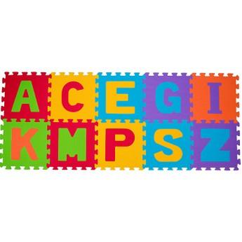 Pro nejmenší - Pěnové puzzle 10 ks 30 x 30 cm Abeceda