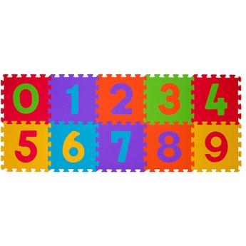 Pro nejmenší - Pěnové puzzle 10 ks 30 x 30 cm Čísla