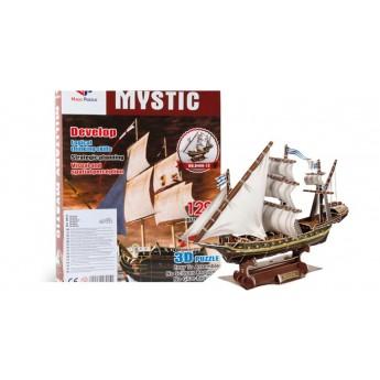 3D Puzzle - Loď Mystic